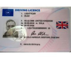 Buy Full UK Drivers License, Database registered DVLA and DVA verified  WhatsApp+447537106615